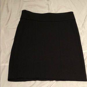 cabi black skirt